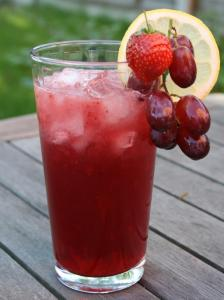 strawberry grape juice