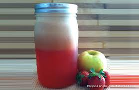watermelon apple strawberry juice